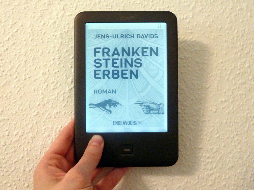 """Rezension: """"Frankensteins Erben"""" - Jens-Ulrich Davids, www.talesandmemories.de"""
