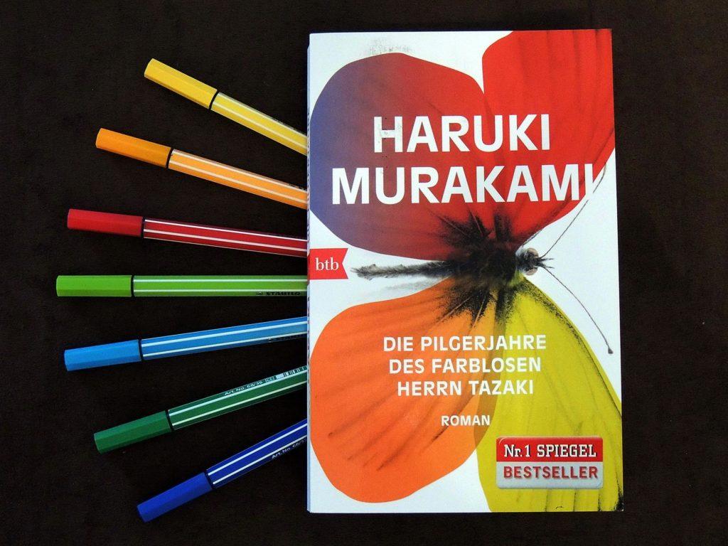 Die Pilgerjahre des farblosen Herrn Tazaki_ Haruki Murakami