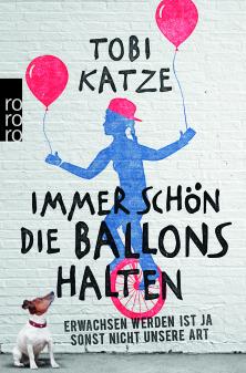 Tobi Katze_Immer schön die Ballons halten
